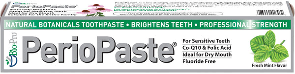 PerioPaste toothpaste in box