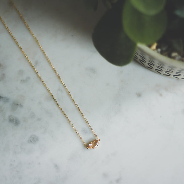 Dainty Jewel Necklace