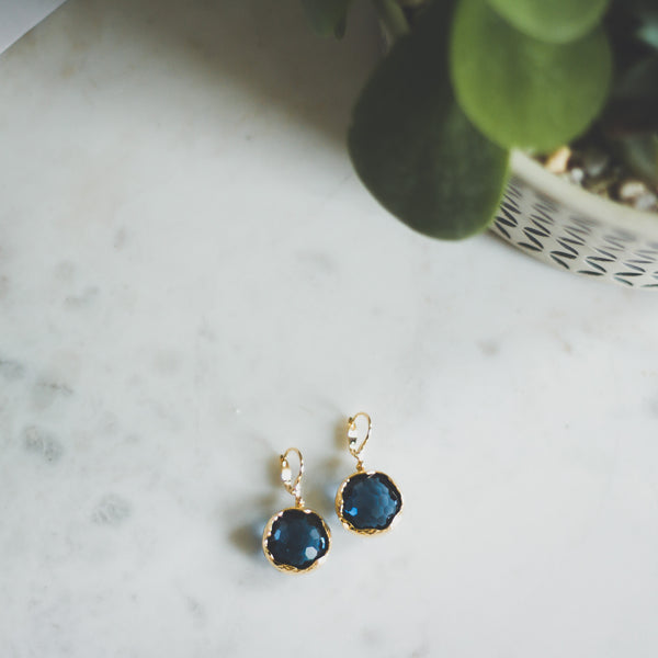 Honeycomb Jewel Earrings