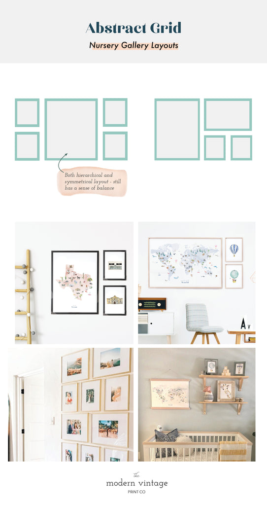 Internal Axis Layouts Nursery Gallery Wall Inspiration