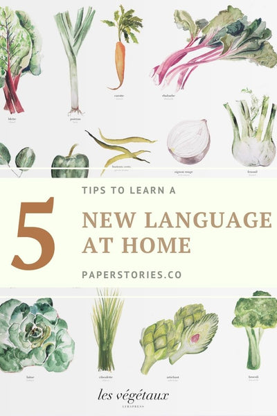 Five Ways to learn a language at home
