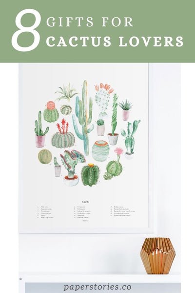 8 Gifts for Cactus and Plant Lovers