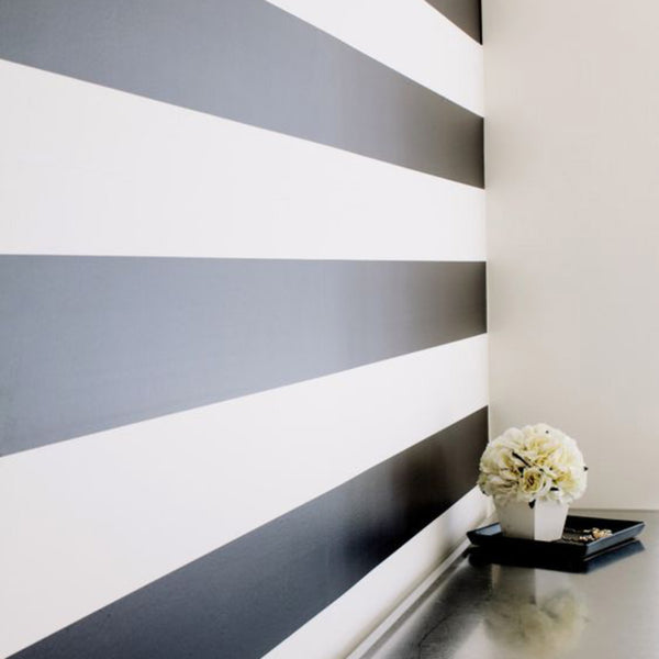 black and white wallpaper scandinavian nursery