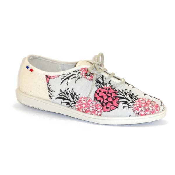 Sneakers Estives ananas rose