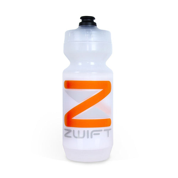 Zwift Specialized Purist 22oz Water Bottle (Clear) - Zwift Online Store