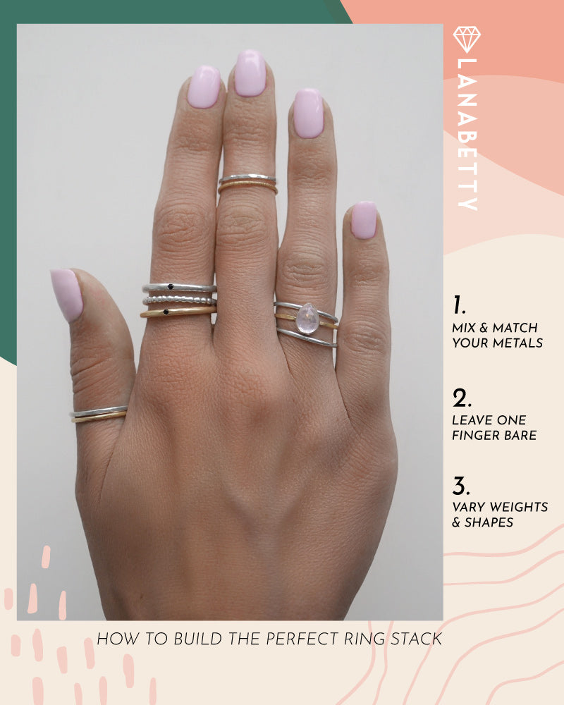 Style Series: How to Build the Perfect Ring Stack