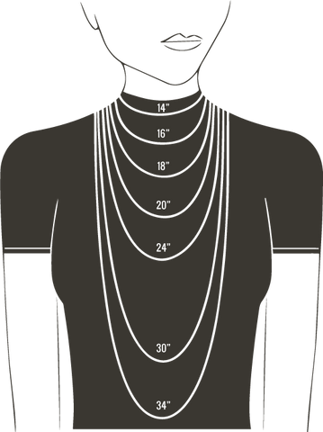 Necklace Size Guide - LanaBetty