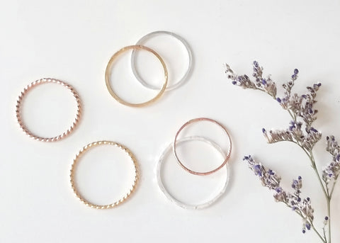 LanaBetty Stacking Ring Workshop