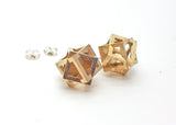 Cube Earrings - LanaBetty Designs - 1