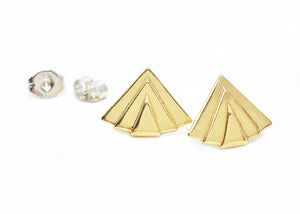 Axis Post Earrings