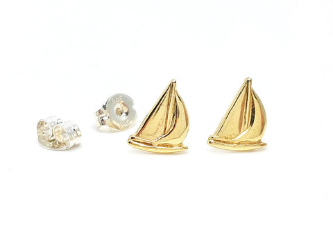 Little Sailboat Post Earrings