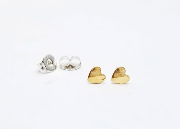 Tiny Heart Post Earrings
