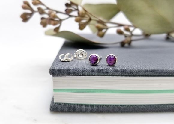 Lyra Gemstone Earrings - 4mm