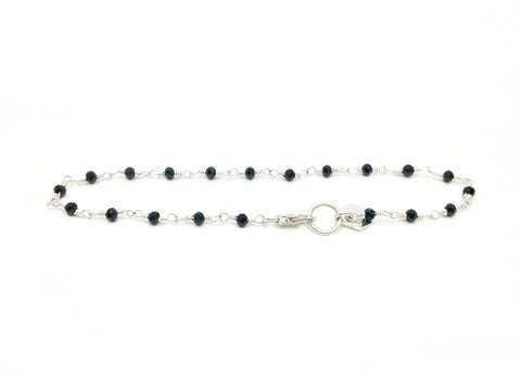 Stepping Stone Beaded Chain Bracelet