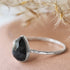 Corona Borealis - Pear Gemstone Ring