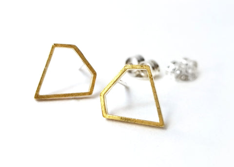Diamond Post Earrings