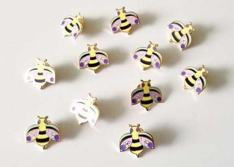 Darling Bumble Bee Lapel Pin
