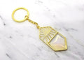 Empire Gold Keychain
