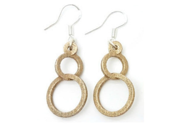 Circular Orbit Dangle Earrings - LanaBetty Designs - 1