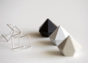 Cubist Post Earrings
