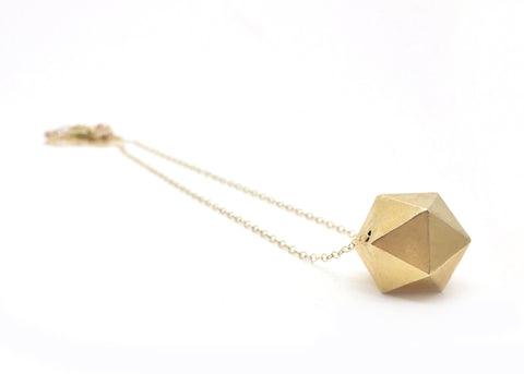 Polyhedron Necklace