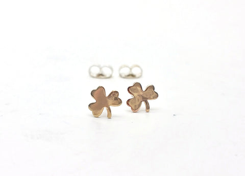Lucky Shamrock Earrings - LanaBetty Designs - 1