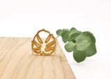 Monstera Leaf Necklace
