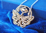Mystic - Ethereal Moth Necklace