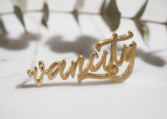 Vancity Necklace - Love to Run Collection