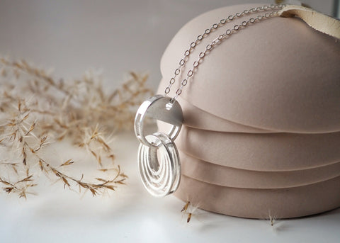 Oval Necklace - Long