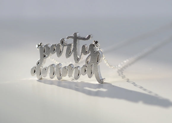 Party Animal Necklace - Love to Run Collection