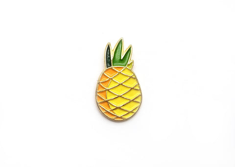 Passionate Pineapple Lapel Pin