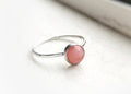 Ursa Minor - 6mm Gemstone Ring