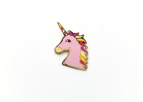 Unicorn Lapel Pin - Multiple Colors