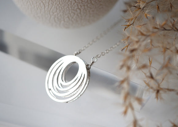 Oval Necklace - Short