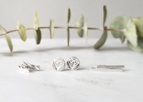 Gift Set - Silver Earrings