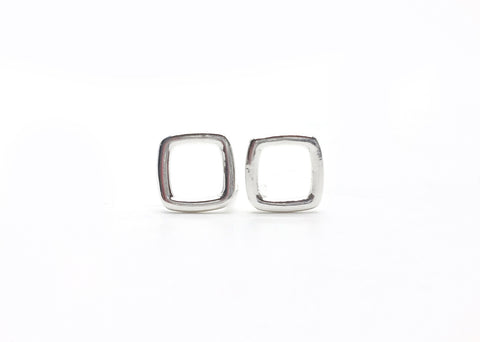 Acme Post Earrings - Square