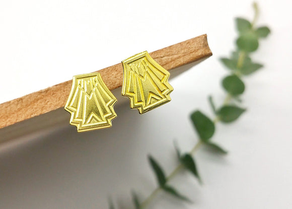 Streamline Flare Earrings