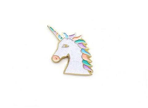 Magical Unicorn Lapel Pin - Multiple Colors
