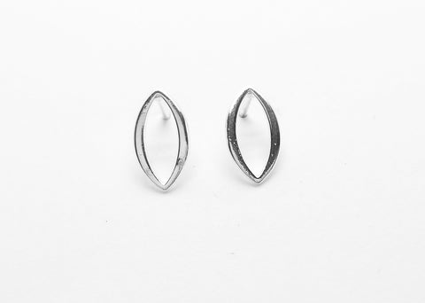 Zenith Post Earrings - Marquise