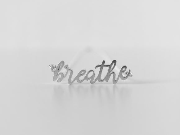 Breathe Necklace - Love to Run Collection