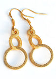 Circular Orbit Dangle Earrings - LanaBetty Designs - 3