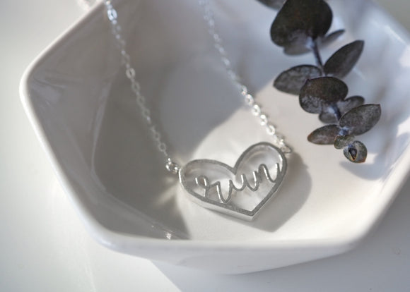 Love to Run Necklace - Love to Run Collection