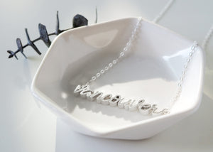 Vancouver Necklace - Love to Run Collection