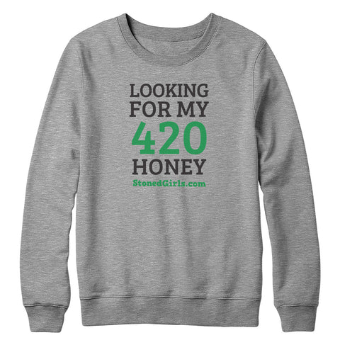 420 Honey Crewneck Sweatshirt