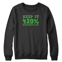 420 Percent Crewneck Sweatshirt
