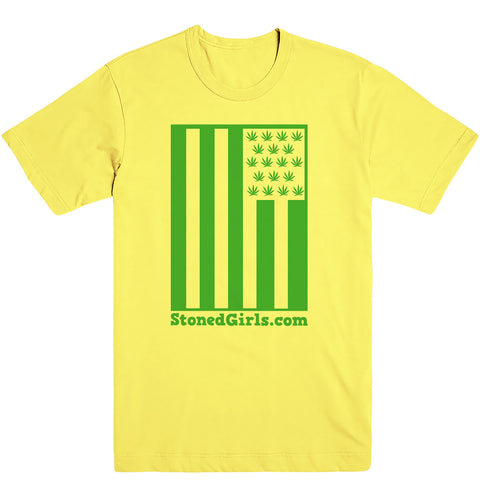 Cannabis Flag Tee