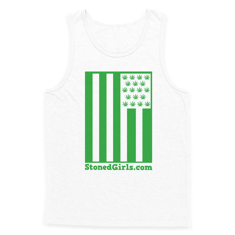 Cannabis Flag Tank Top