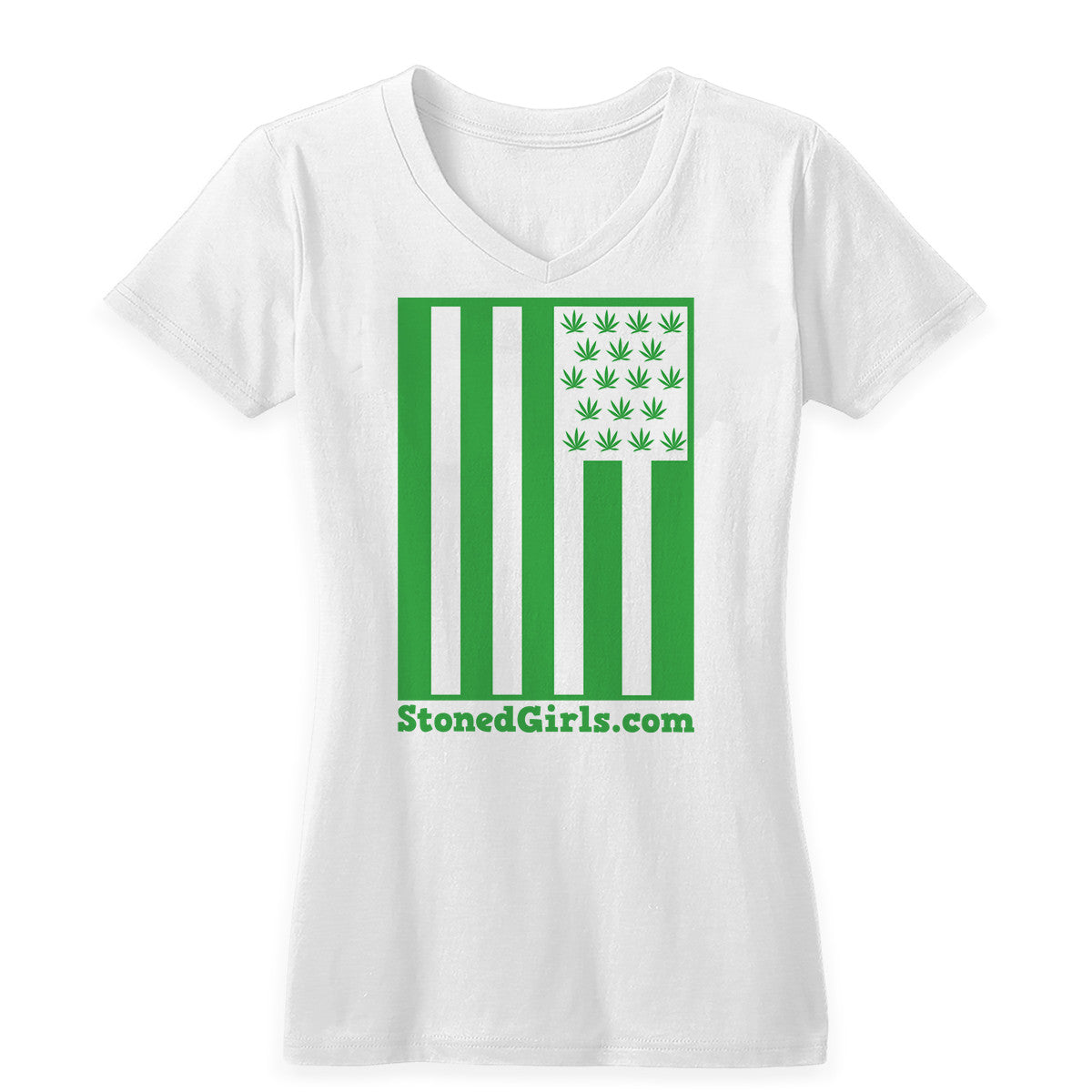 Cannabis Flag Women's Tee