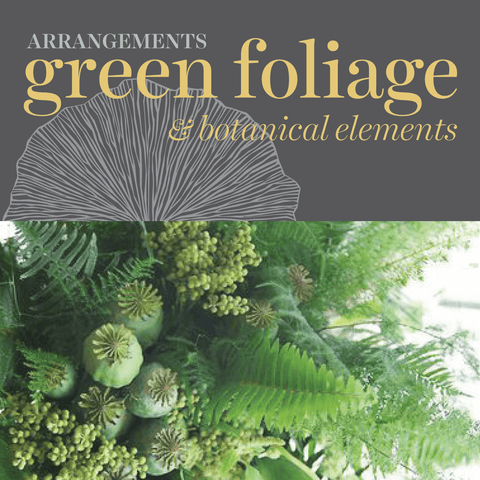 Green Foliage & Botanicals (No Floral)